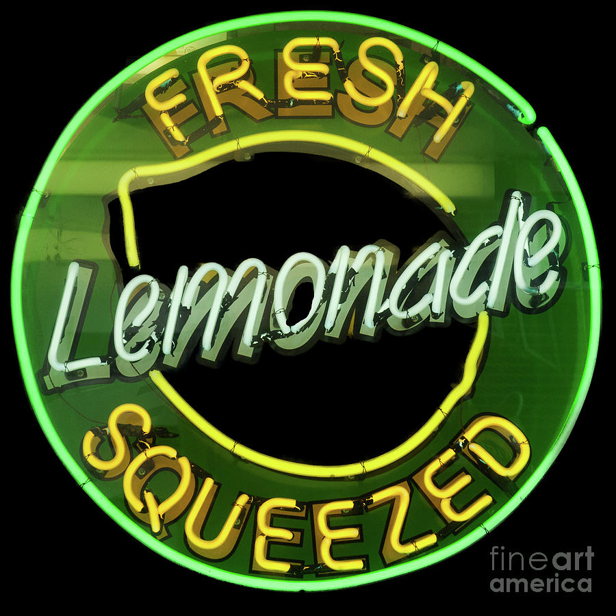 Fresh Squeezed Lemonade Photograph