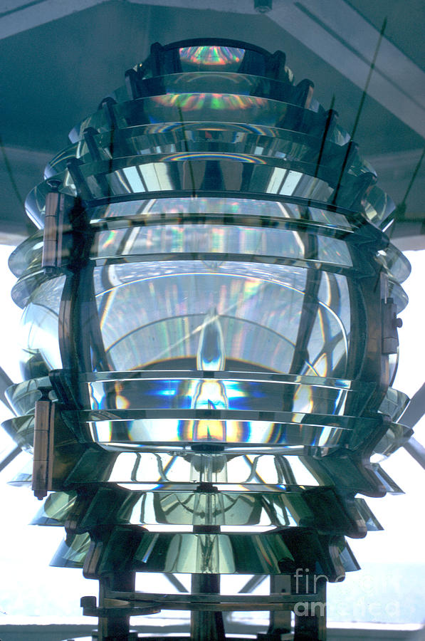 Fresnel Lens Photograph - Fresnel Lens by Jerry McElroy
