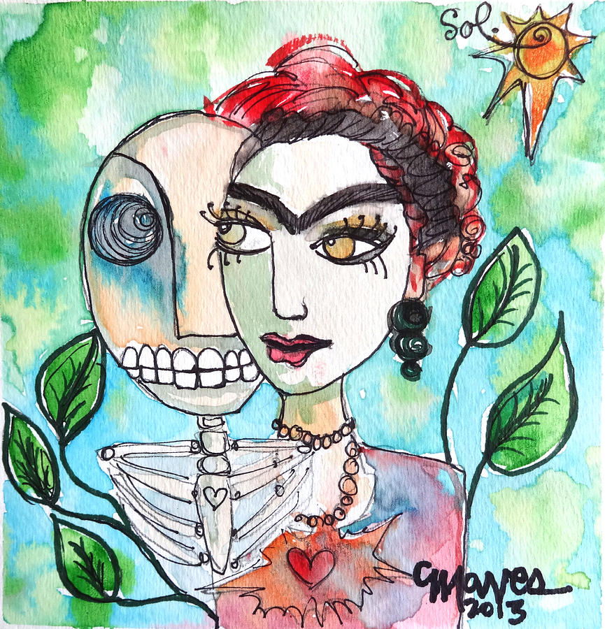 Frida And Sol Painting