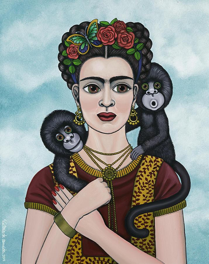 Frida In The Sky by Victoria De Almeida