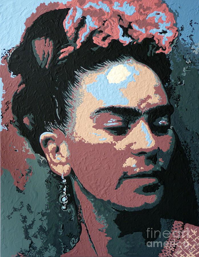 Frida Painting - Frida Kahlo In Colour by N Faulkner