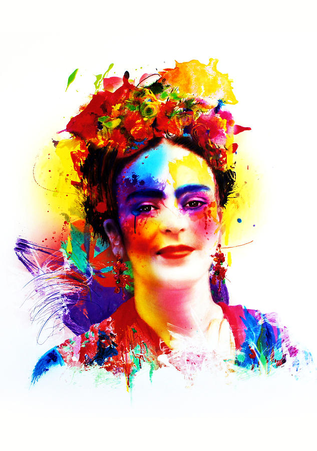 Painting Painting - Frida Kahlo by Isabel Salvador