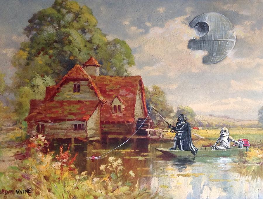Star Wars Painting - Friday Afternoon by David Irvine