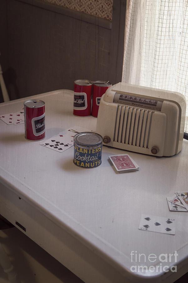 Porker Photograph - Friday Night Poker Game  by Edward Fielding