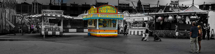 Panorama Photograph - Fried Dough by Bob Orsillo