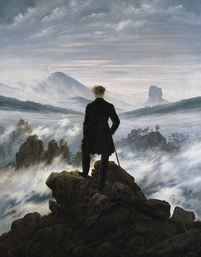 Vertical Photograph - Friedrich, Caspar David 1744-1840. The by Everett