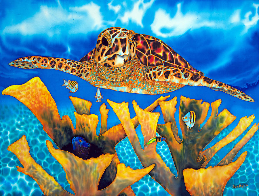 Canvas Painting Turtles