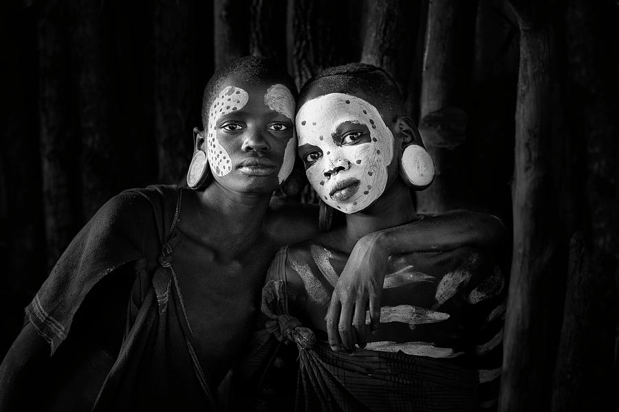 Africa Photograph - Friends by Jose Beut