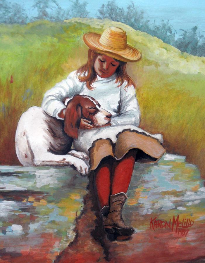 Friend Painting - Friends  by Karon Melillo DeVega
