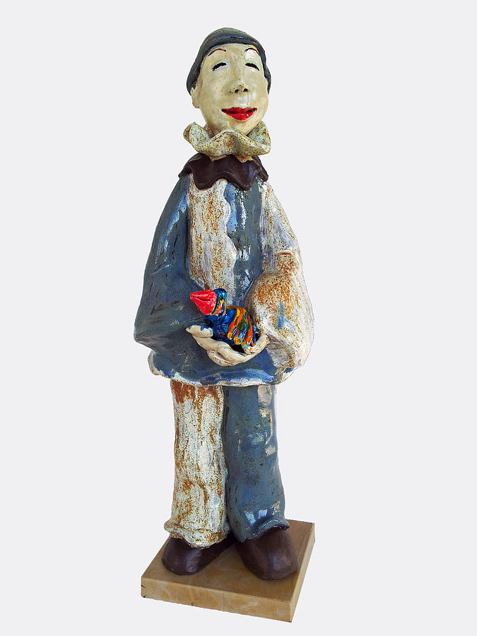 Actor Sculpture - Friendship by Agnieszka Parys-Kozak