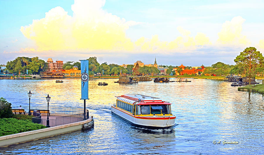 Image result for epcot friendship boats