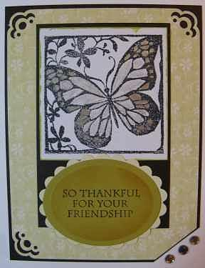 Greeting Cards Mixed Media - Friendship Note Card by Cheryl Depler