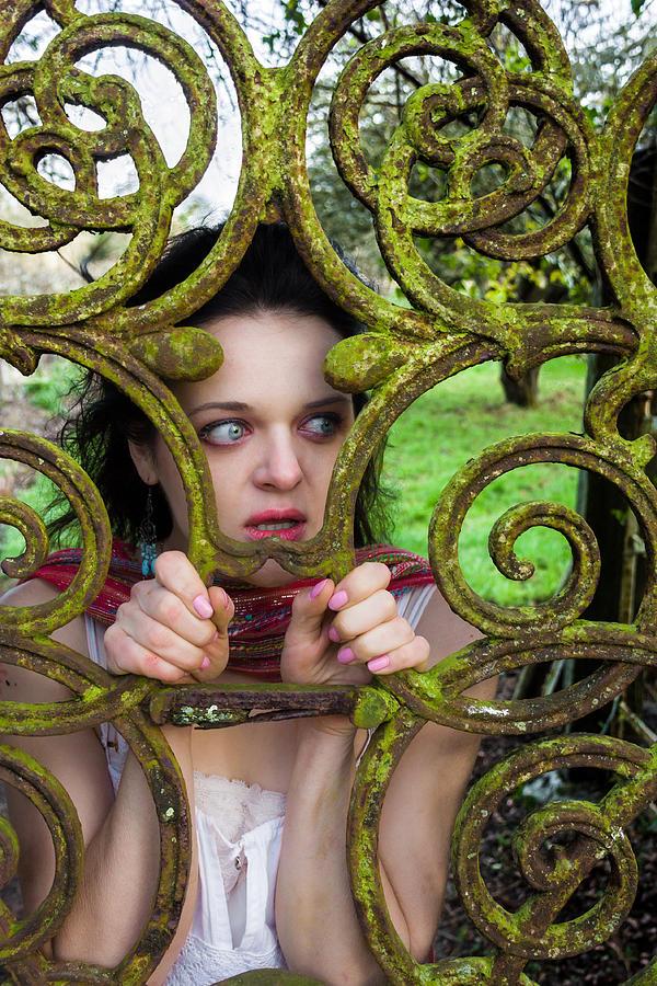 Beauty Photograph - Frightened  by Semmick Photo