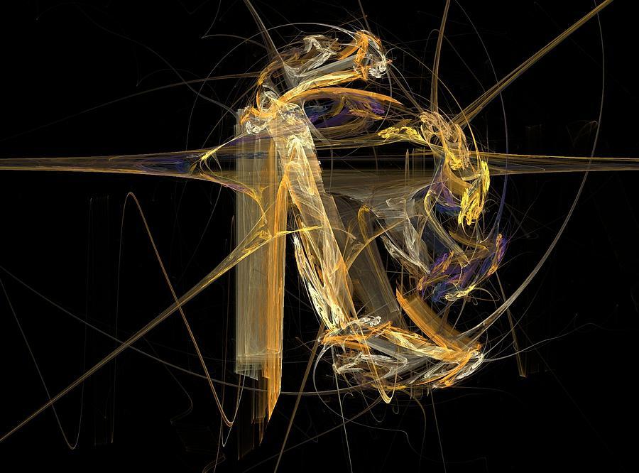 Fringe Benefits Digital Art - Fringe Benefits by Barroa Artworks