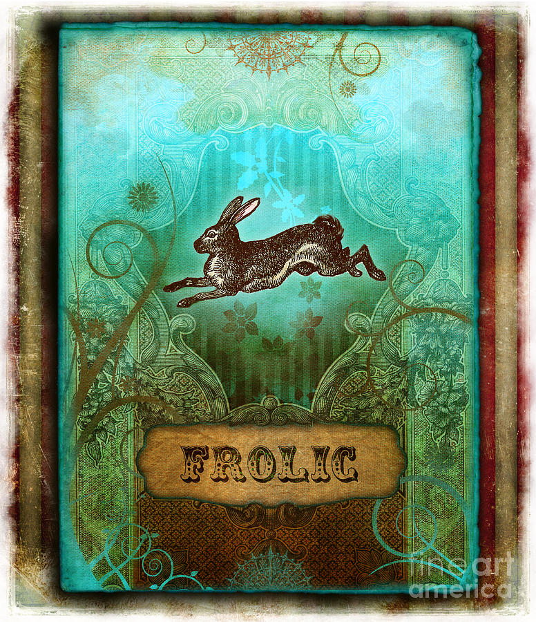 Andrew Farley Digital Art - Frolic by Aimee Stewart
