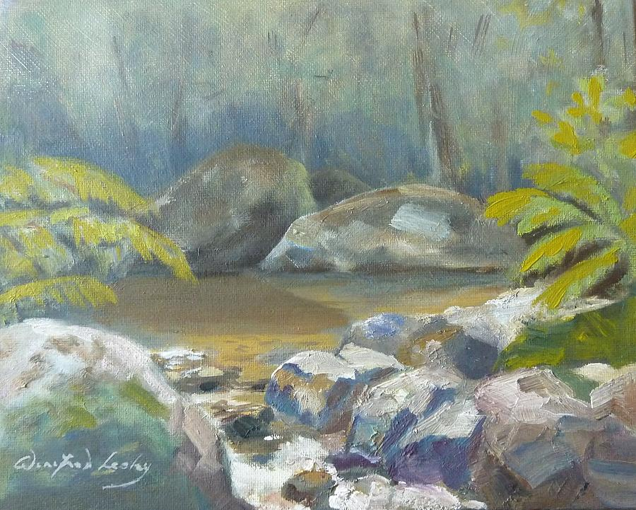 From A Childhood Memory Painting by Winifred Lesley
