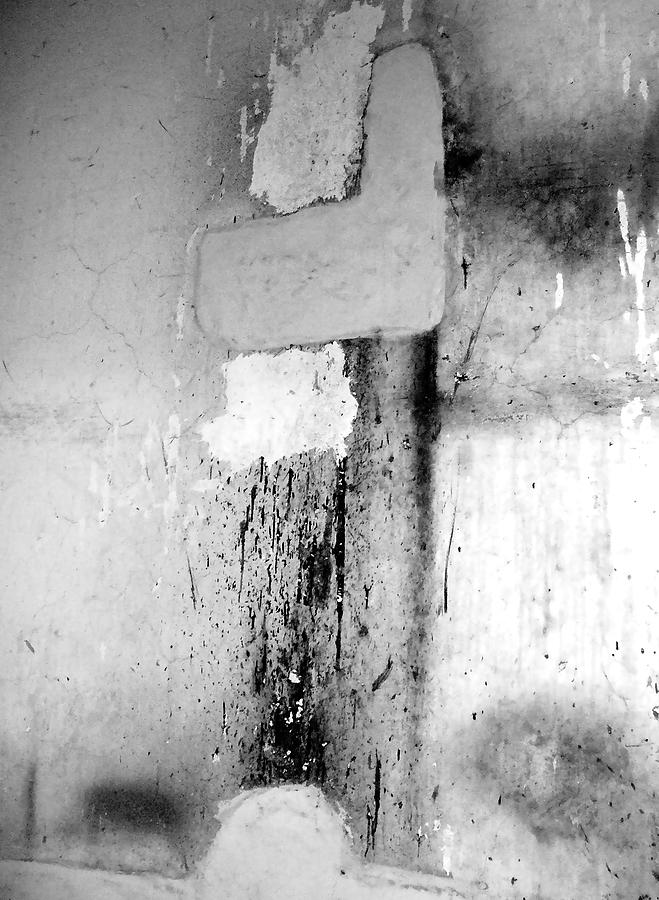 Lyrical Abstraction Photograph - From Abandoned Factory by Mary Sullivan