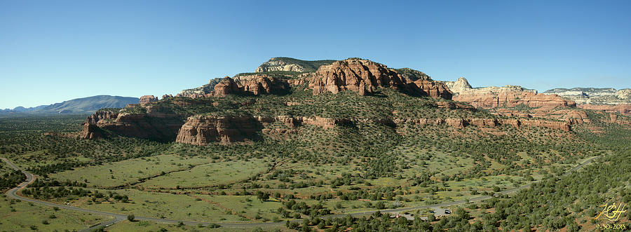 Sedona Photograph - From Doe Mt by Kenneth Hadlock