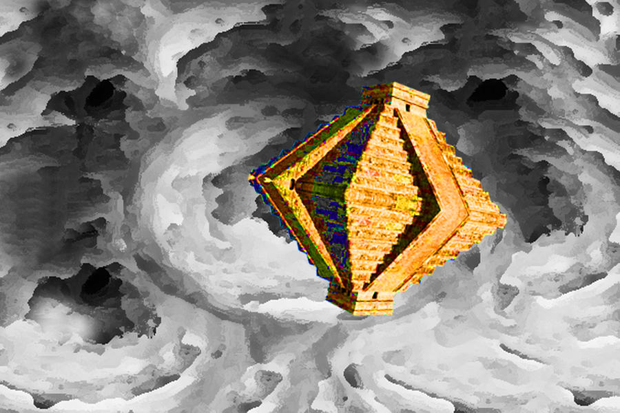 Mayan Pyramids Photograph - From Here To Another Here 6 by Bruce Iorio