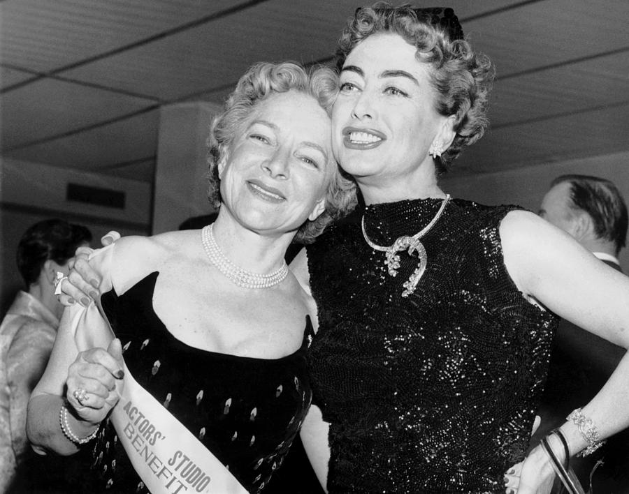 Image result for helen hayes and joan crawford  color