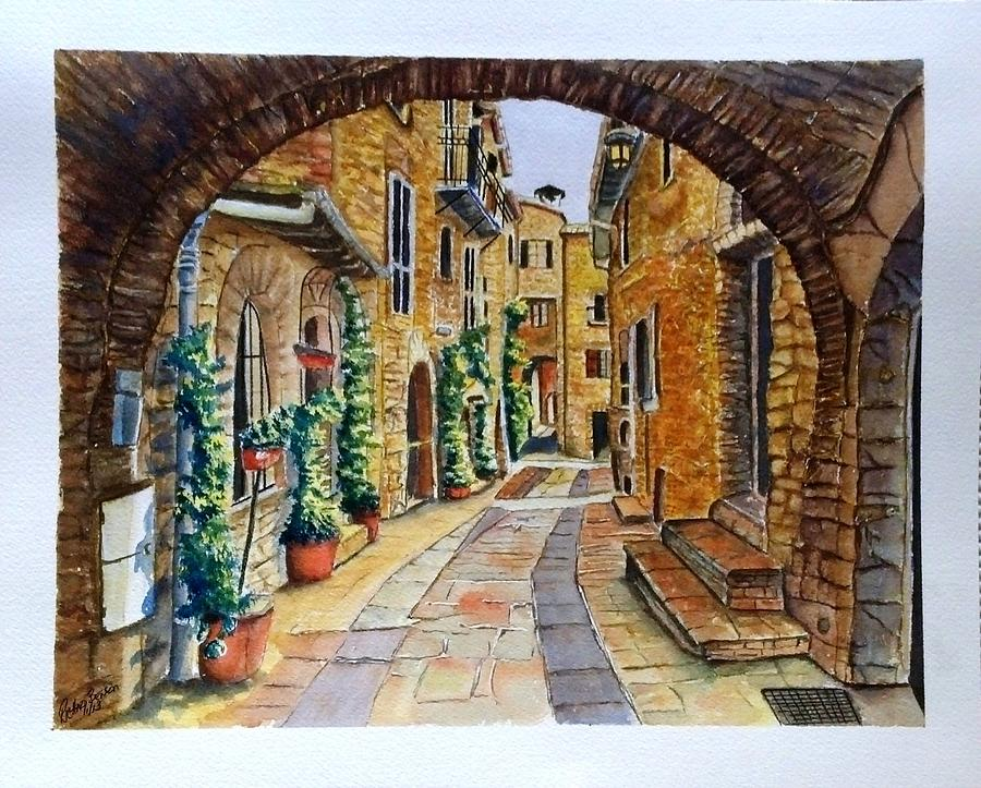 From My Cousin's in Italy SOLD by Richard Benson