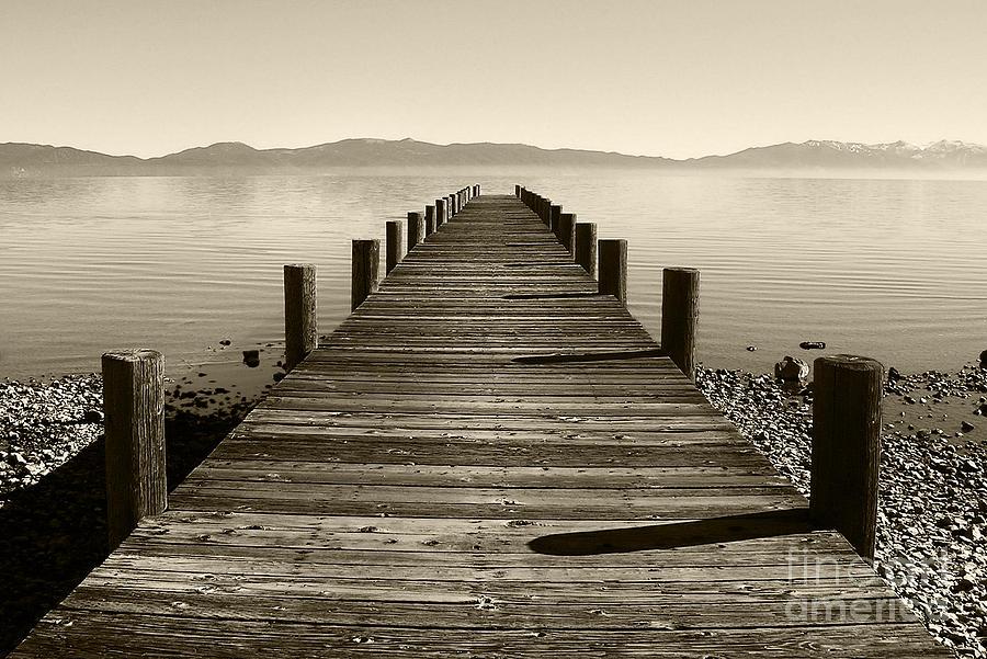North Lake Tahoe Photograph - From North Lake Tahoe by John Debar