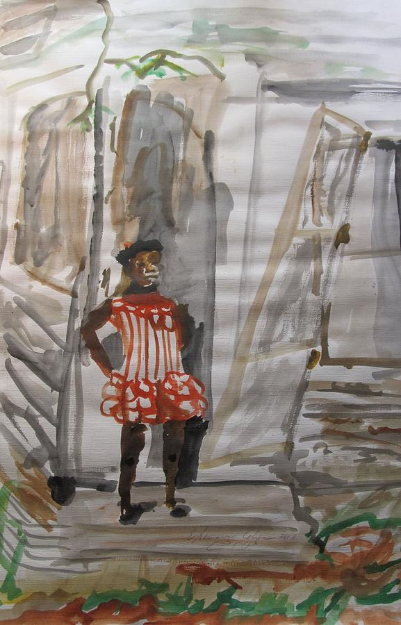 African-american Painting - From Slavery To Penury by Esther Newman-Cohen