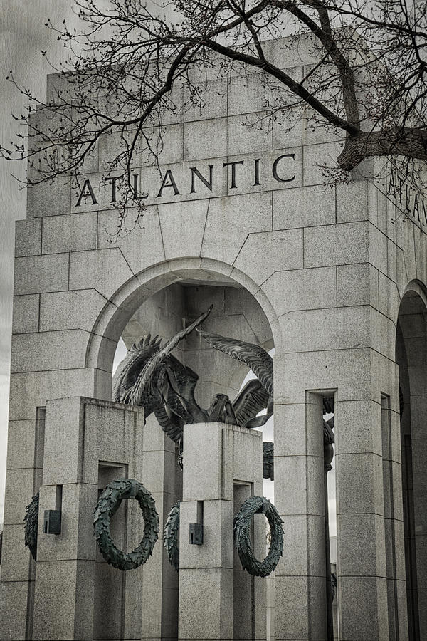 Monument Photograph - From The Atlantic by Joan Carroll