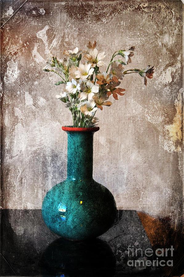 Vase Photograph - From The Garden by Randi Grace Nilsberg