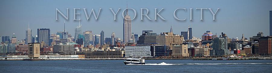 New York Photograph - From The Harbor by Thomas Fouch