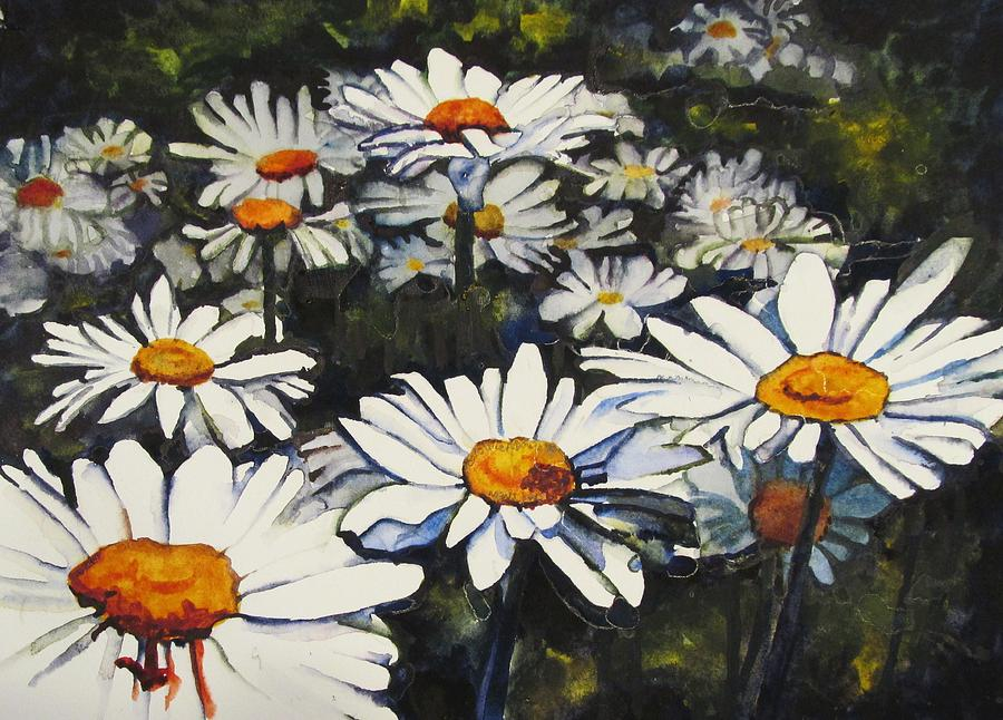 Daisies Painting - From The Heartland by Caroline Doucette