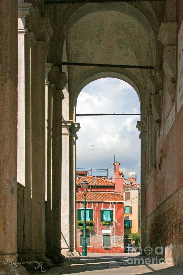 Cityscape Photograph - From The Scuola Di S. Rocco by Mariarosa Rockefeller