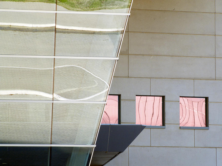 Architectural Abstract Photograph - From The Side by Ross Odom
