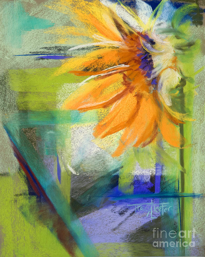Kansas Pastel - From The Soil by Tracy L Teeter