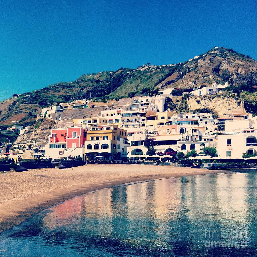Ischia Photograph - From The Waters Edge by H Hoffman
