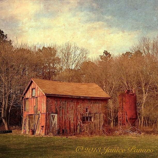 Abandoned Photograph - From Todays Road Trip. #distressedfx by Jan Pan