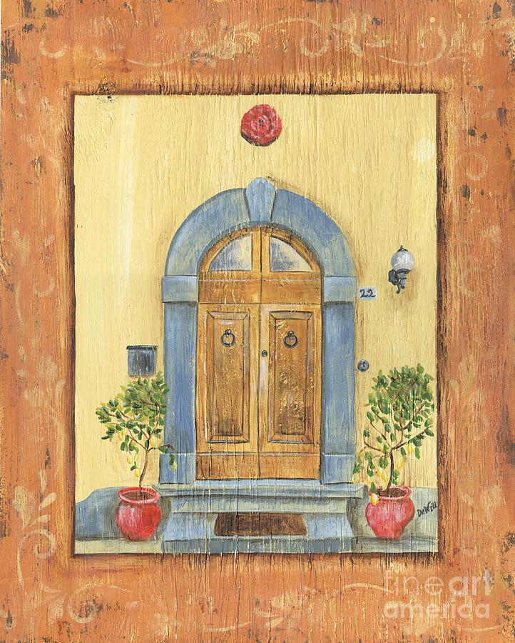 Front Door Painting - Front Door 1 by Debbie DeWitt