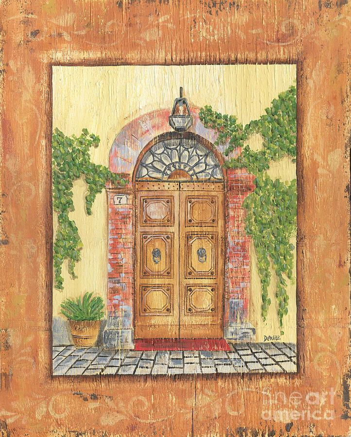 Front Door Painting - Front Door 2 by Debbie DeWitt