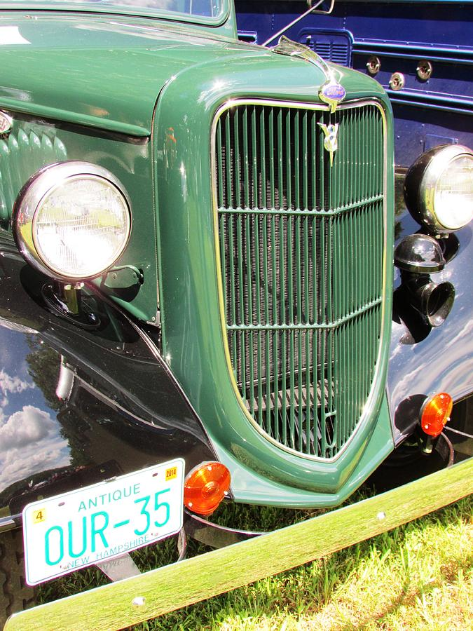 Antique Photograph - Front End by Will Boutin Photos