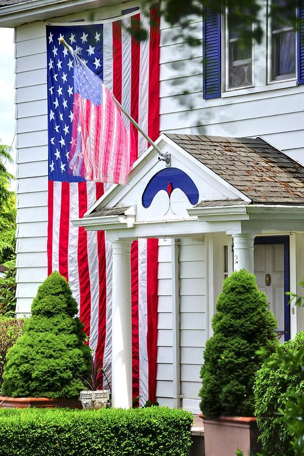 Front Porch Flag 25485 Photograph