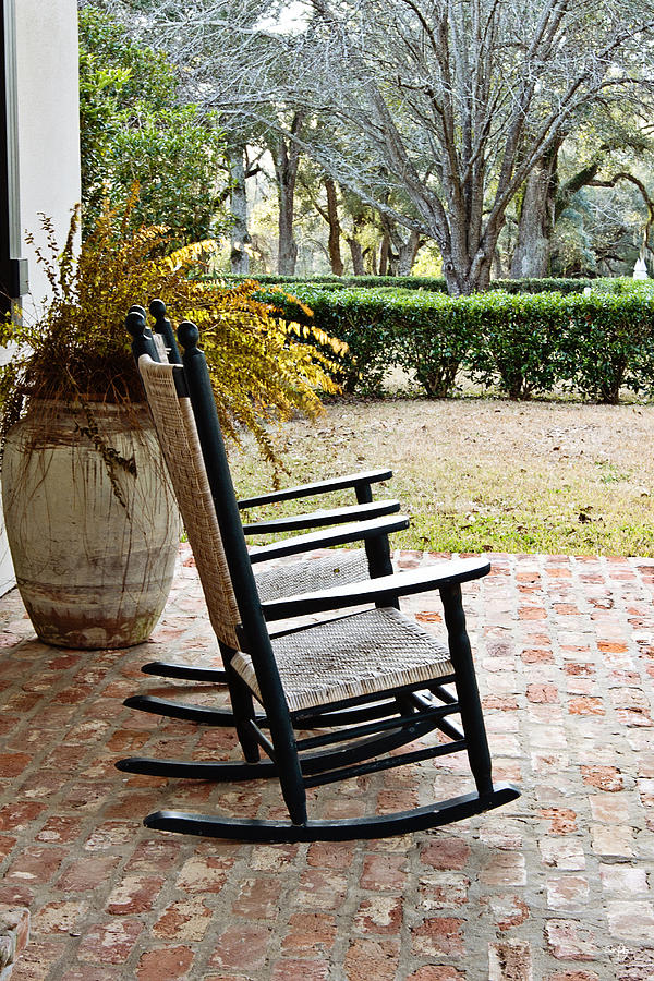 Rocking Chair Photograph - Front Porch Rockers by Scott Pellegrin