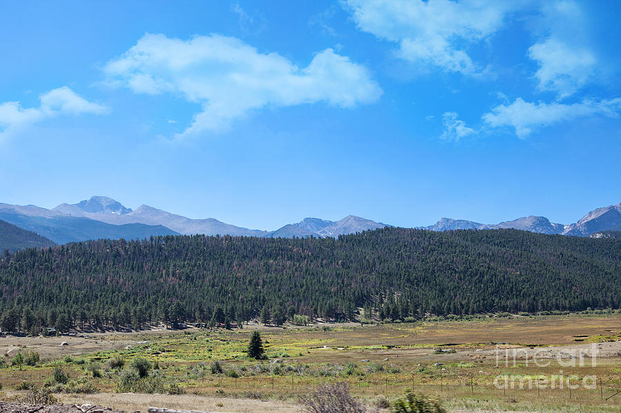 Colorado Photograph - Front Range Rockies by Kay Pickens
