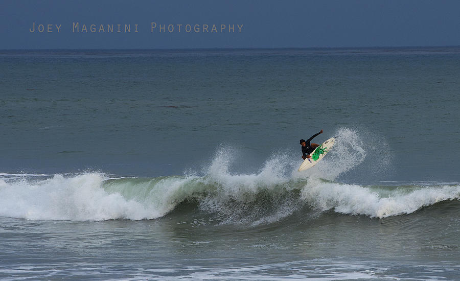 Surfing Photograph - Frontside  by Joey  Maganini