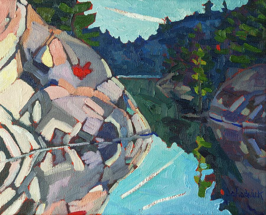 Quartzite Painting - Frood Quartzite by Phil Chadwick