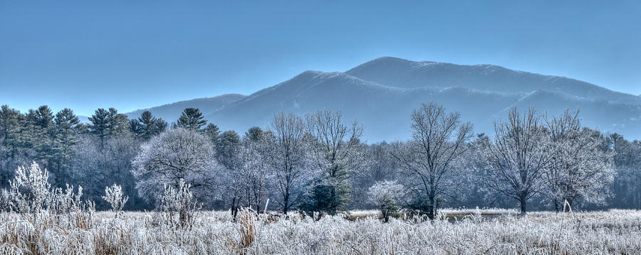 Blount County Photograph - Frosty Morning in Cades Cove by Kristina Plaas