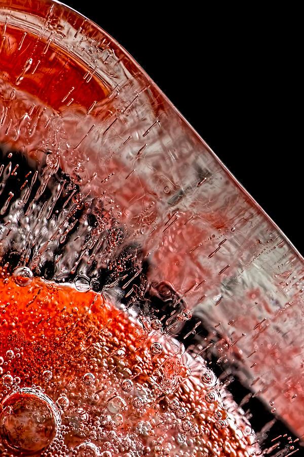 Ice Photograph - Frozen Balls by Bob Orsillo