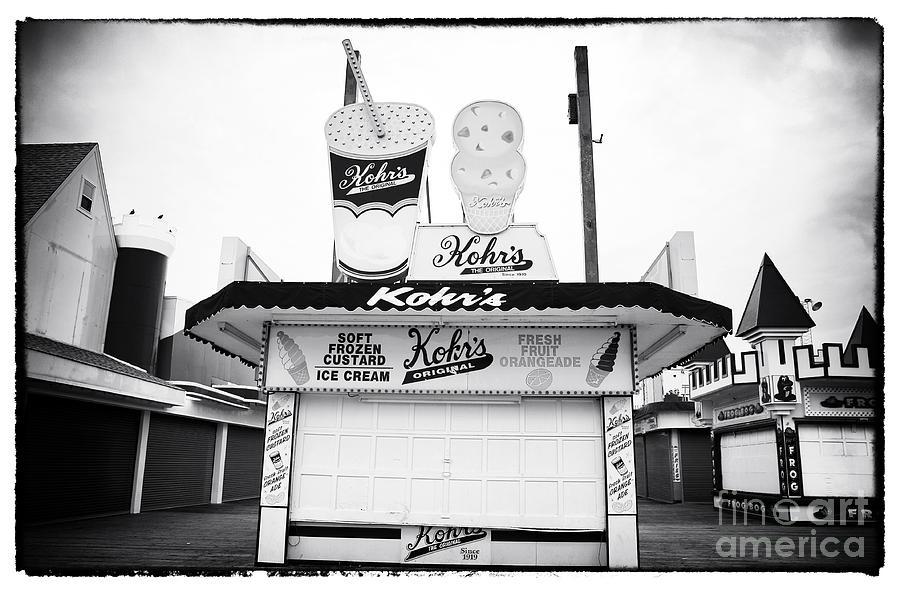 Custard Photograph - Frozen Custard by John Rizzuto