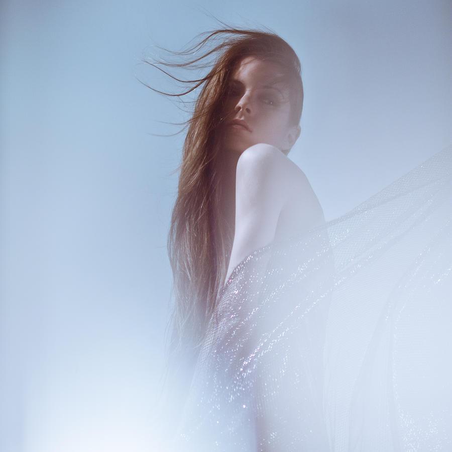 Girl Photograph - Frozen by Eugenia Kirikova