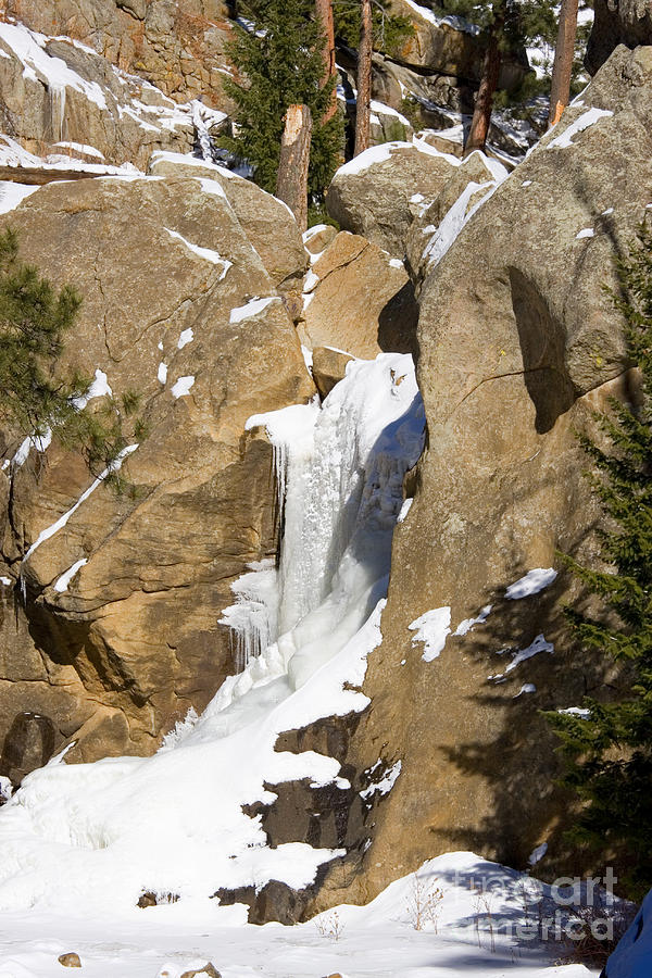 Frozen Falls Photograph
