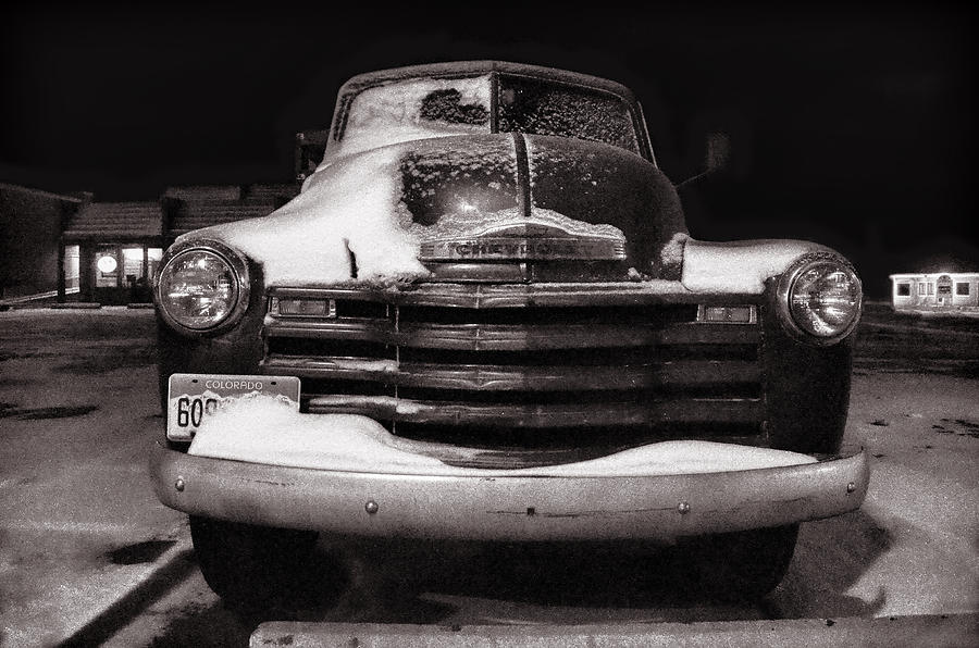 1950 Chevy Pickup Photograph - Frozen In Time by Ken Smith